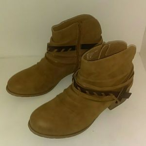 Jellypop Ankle Boots Size 11